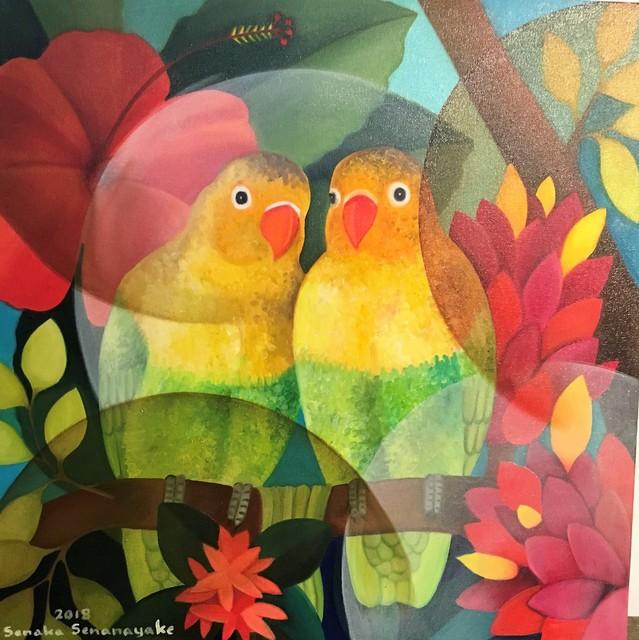 , 'Lovebirds,' 2018, Grosvenor Gallery
