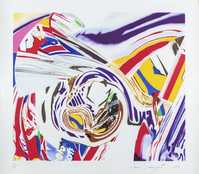 James Rosenquist, '(AMERICAN, 1933-2017) 'After Berlin V.'', 1999, Painting, Lithograph, Modern Artifact