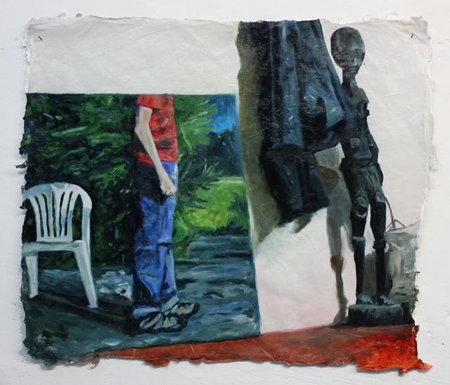 Martinho Costa, 'Pintura e Estátua', 2015, Galería silvestre