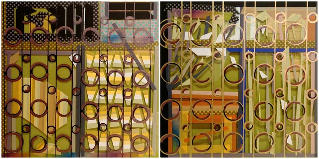, 'The Poem of Grilles in Taipei  – Circle II,' 2016, Powen Gallery