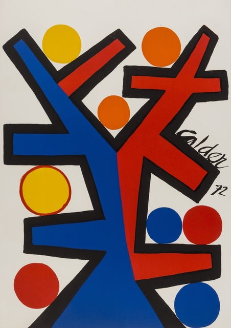 Alexander Calder, 'Tree', 1972, Print, Lithograph printed in colours, Forum Auctions