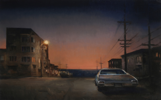 Kim Cogan, 'Into the Sunset', 2020, Painting, Oil on canvas, Gallery Henoch