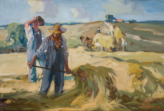 , 'The Hay Field,' ca. 1916, WOLFS