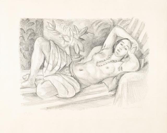 , 'Odalisque au magnolia,' 1923, Bernard Jacobson Gallery