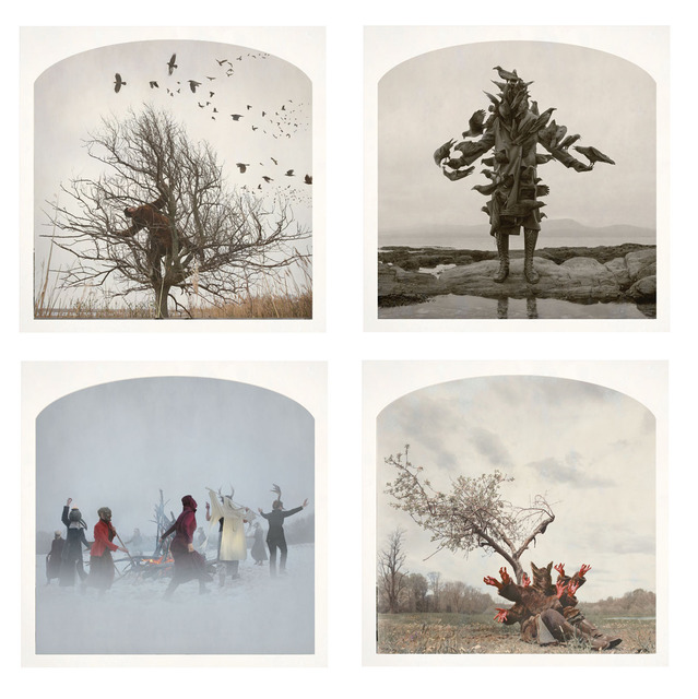 , '(Clockwise, start top left)Raven Tree, King of Birds, Red-Handed, Witch's Rave,' , Yancey Richardson Gallery