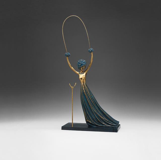 Salvador Dalí, 'Alice in Wonderland', 1977/1984, Sculpture, Bronze with blue patina, Phillips