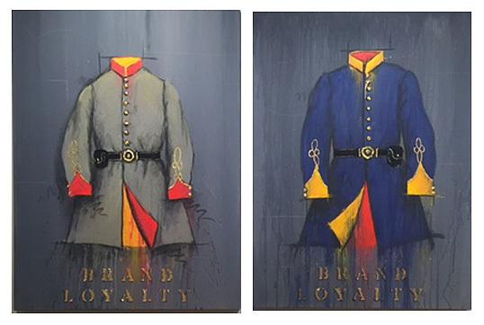 , 'Brand Loyalty -Brand Loyalty - Rebel Tunic & Union Blue,' , Greg Thompson Fine Art