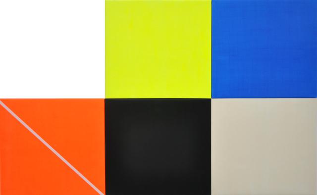 , 'Signal Flag #1,' 2015, IFAC Arts