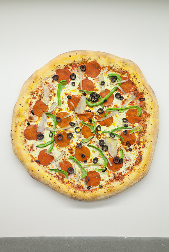 Tom Friedman, 'Untitled (Pizza),' 2013, Luhring Augustine