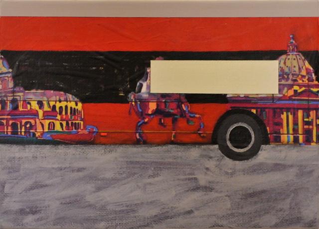 , 'Paesaggio con veduta (Roma II),' 2010, Collezione Maramotti