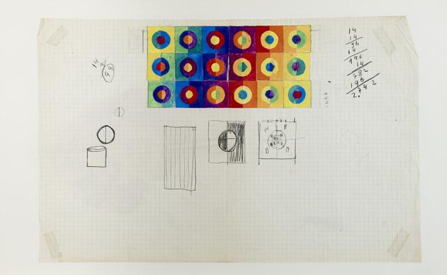 Armando Durante, 'Untitled [Grids]', 1961, GALERÍA JOSÉ DE LA MANO