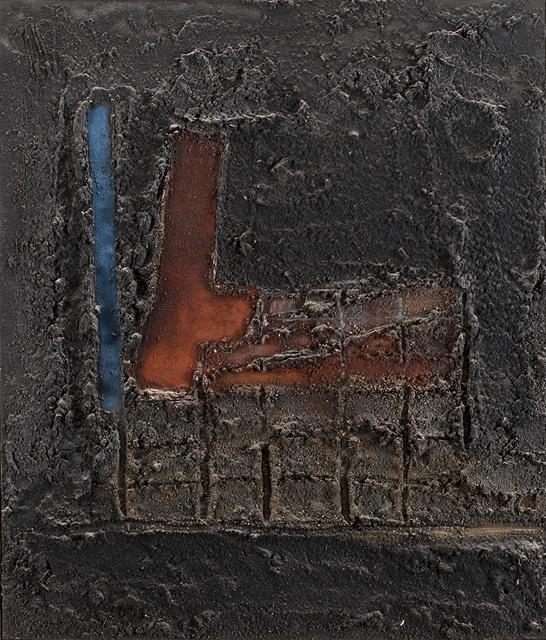 Enrico Donati, 'I 2 versi, linea - quadro', 1954, Il Ponte