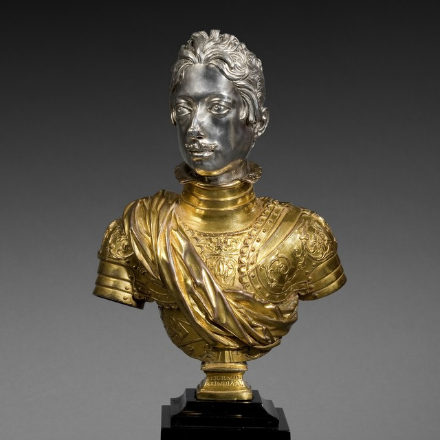 , 'Bust of Ferdinandi II de Medici, Grand Duke of Tuscany,' 1610-1670, J. Kugel