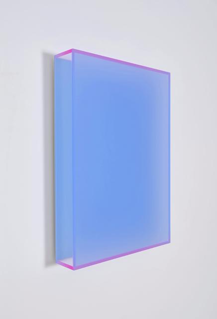 Regine Schumann, 'Color Satin Ice Blue Berlin', 2017, Sculpture, Fluorescent acrylic glass, Taguchi Fine Art