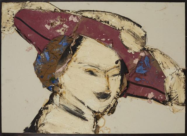 , 'Dama con sombrero rojo y blanco,' 2016, Rosenbaum Contemporary