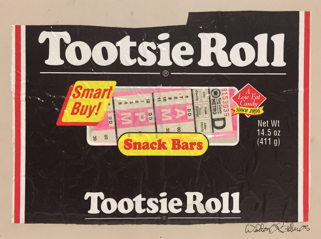 , 'Tootsie Roll,' 2005, G. Gibson Gallery