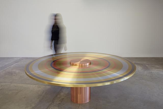 , 'Freeze Ring Table,' 2015, Friedman Benda