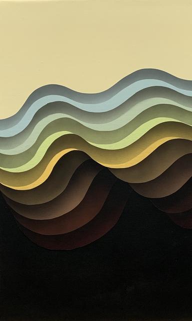 1010, 'Flow 10', 2018, Hashimoto Contemporary