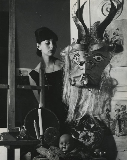 , 'Woman and mask, City of Mexico,' 1963, Michael Hoppen Gallery