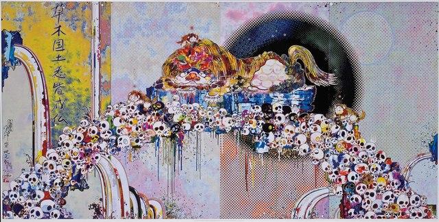 , 'As the Interdimensional Waves run through me...,' 2012, Martin Lawrence Galleries