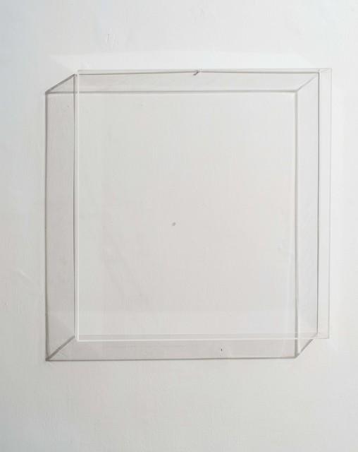 , 'Scatola di perspex trasparente con foro da 5mm,' 1965, Erica Ravenna Fiorentini Arte Contemporanea