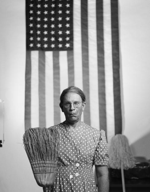 Sandro Miller, 'Gordon Parks / American Gothic, Washington, D.C., 1942 ', 2014, Fahey/Klein Gallery