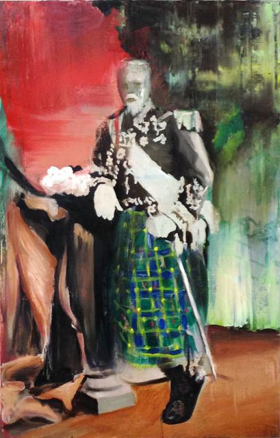 , 'Efeito Rebote - Duque de Caxias em traje Kilt,' 2014, Luciana Caravello Arte Contemporânea