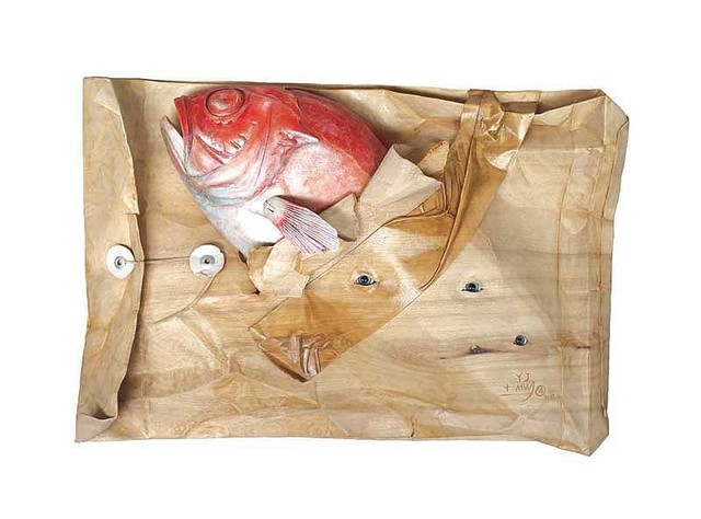 , 'Red Fish in Envelope,' 2011, Amelie Art Gallery