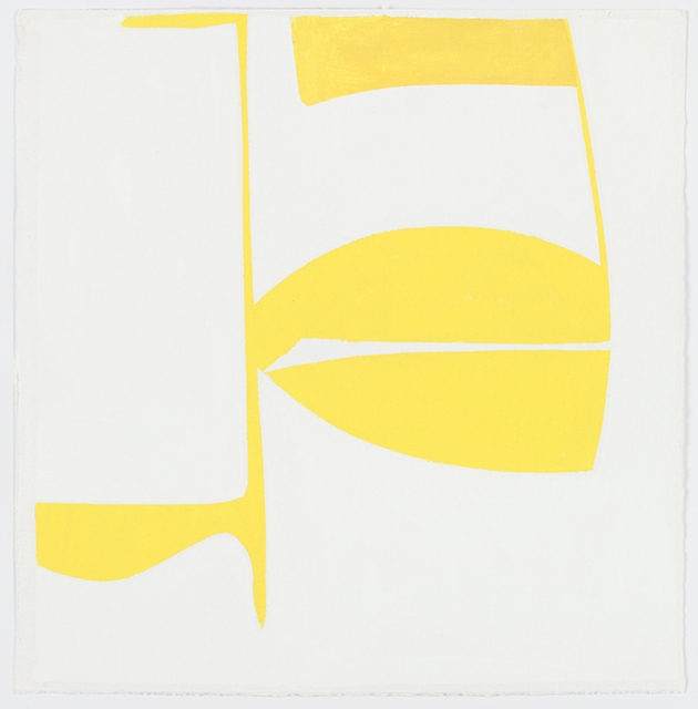 , 'Covers 18-Yellow (B),' 2014, Kathryn Markel Fine Arts