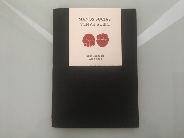 Paulette Myers-Rich, 'Manos Sucias / Dirty Hands', 2018, Print, Artist book, Park Place Gallery