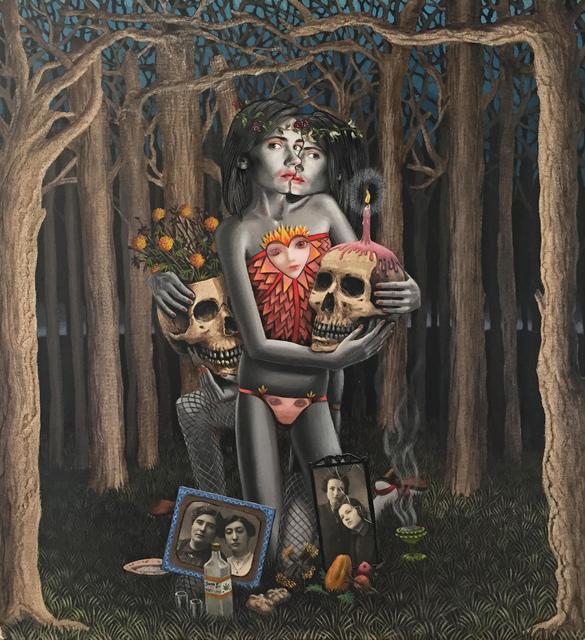 , 'Día de muertos,' 2015, Galeria Senda