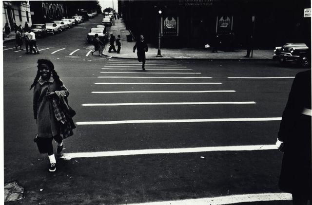Louis Draper, 'Crosswalk, New York', ca. 1962, Bruce Silverstein Gallery