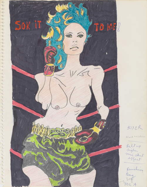 , 'Sok it to Me! (Study for Hairy Who Sideshow Panel),' 1967, Derek Eller Gallery
