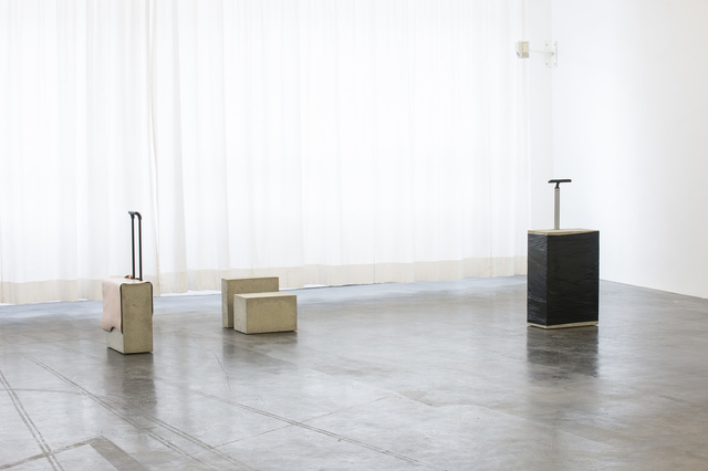 , 'Notebook Case / Beauty Case / Cabin Trolley 1 / Trolley I,' 2015, Kunstverein Reutlingen