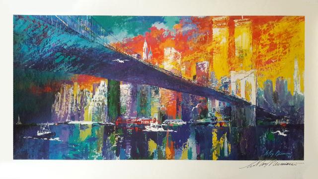 LeRoy Neiman, 'Brooklyn Bridge', 1995, RoGallery