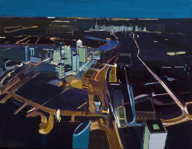 , 'Canary Wharf,' 2012, Robert Eagle Fine Art