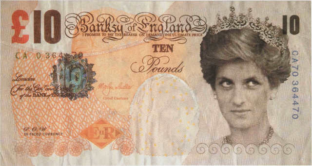 Banksy, 'Di-faced Tenner', 2004, RAW Editions Gallery Auction