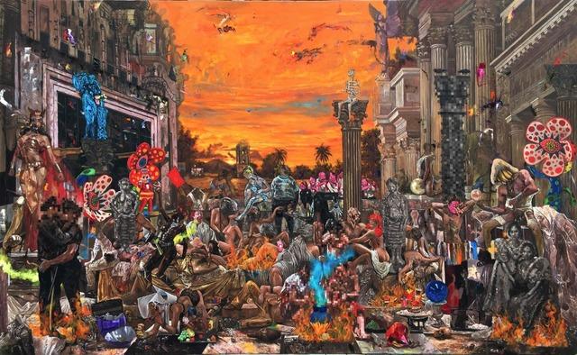 , 'Universal Party,' 2016, Galerie Michael Janssen