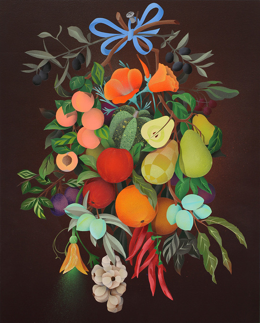 , 'Festoon of California Fruit,' 2016, Hashimoto Contemporary