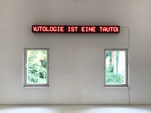 , 'EINE TAUTOLOGIE IST EINE TAUTOLOGIE IST EINE ...,' 1969, Brigitte March International Contemporary Art