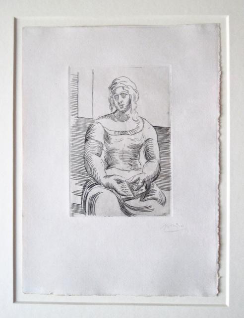 Pablo Picasso Femme Au Livre Ca 1918 Available For Sale Artsy