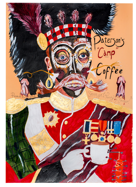 , 'Proud to serve - Patterson's Camp Coffee,' 2014, Sperling