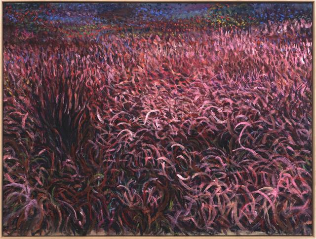 Eemil Karila, 'Purple Dusk', 2021, Painting, Ink, tempera and oil on linen, MAKASIINI CONTEMPORARY
