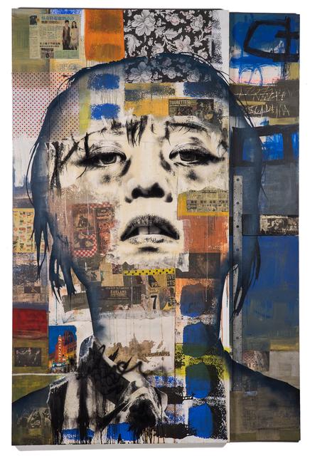 , 'Last Lap (Blue) [collaboration with James Swinson],' 2016, Mirus Gallery
