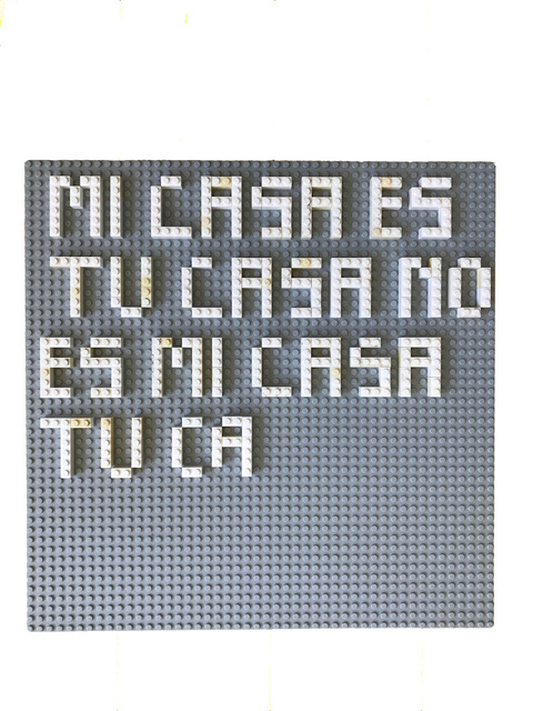 , 'Mi Casa Es Tu Casa No Es Mi Casa Tu Ca,' 2017, Klowden Mann