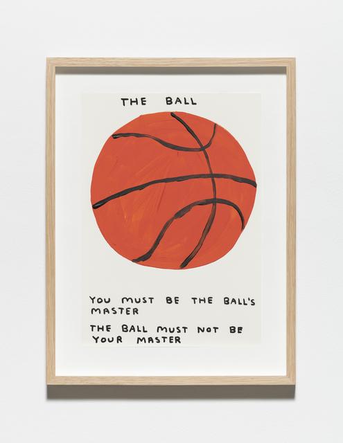 , 'Untitled (The ball),' 2019, Galleri Nicolai Wallner