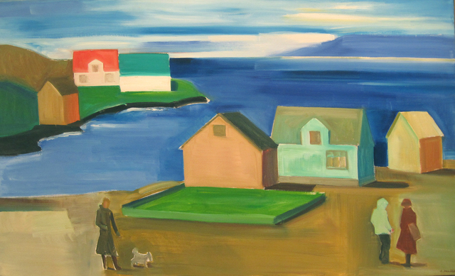 , 'Icelandic Village,' 1980, Tibor de Nagy