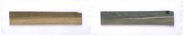 Ed Ruscha, 'New Wood, Old Wood', 2007, Mixografia