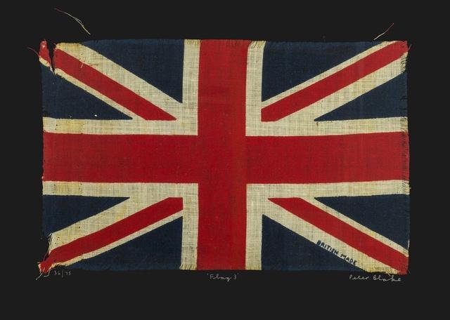 Peter Blake, 'Flag 3', 2009, Forum Auctions