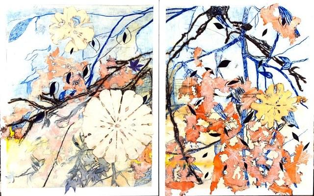 , 'Sand Dollar Tree I & II (diptych),' 2011, Rosenbaum Contemporary